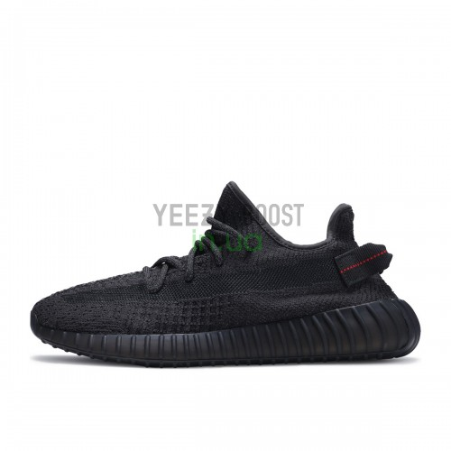 Yeezy Boost 350 V2 Static Black Reflective Laces FU9007